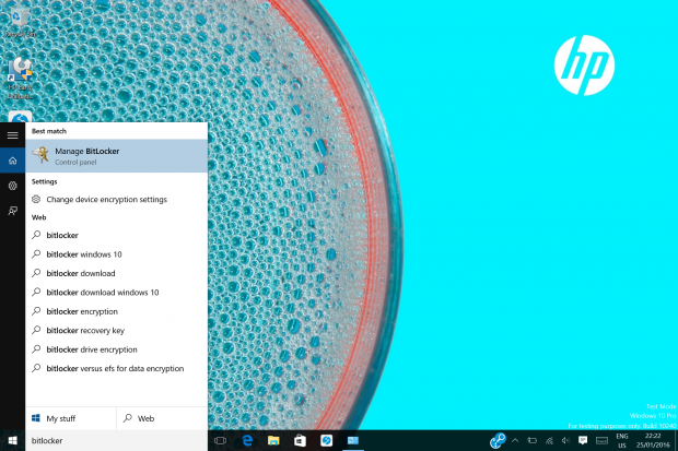 A guide to encrypting your hard disk on Windows 10 (Desktop)