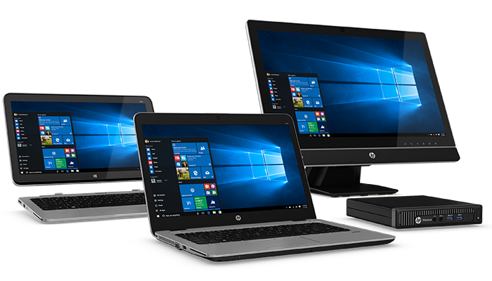Don't put your SMB at risk. Upgrade to Windows 10 with HP (Desktop)