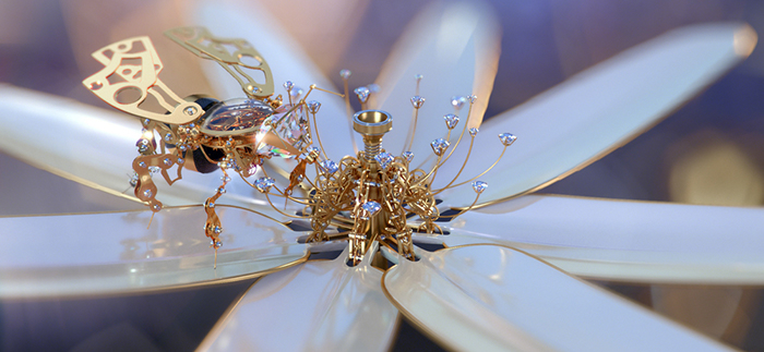 Mechanical bees created by ©Mainframe