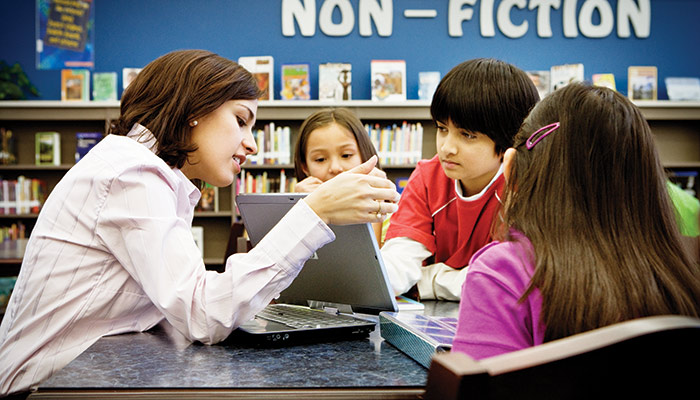 Think tablets in the classroom means a loss of control? Think again (Desktop)