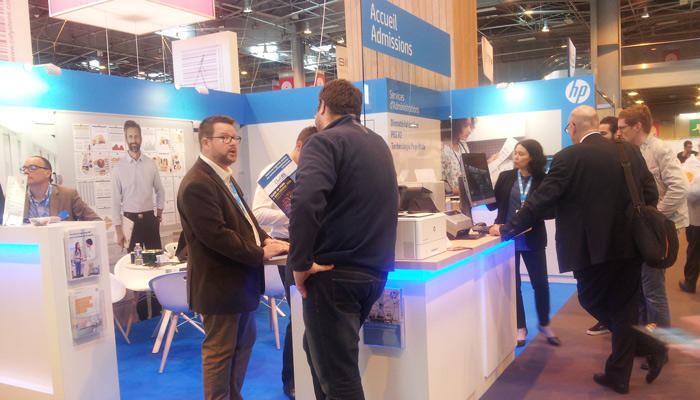 Rejoignez HP sur le Salon Health-IT (Desktop)