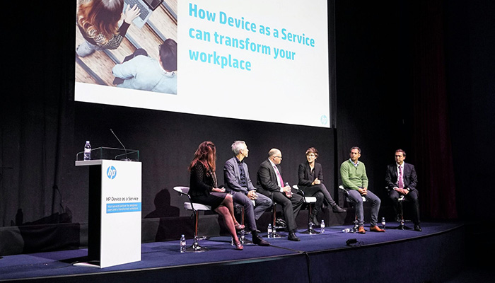 HP Device as a Service, the office of the future and changes in IT – the experts have their say (Desktop)
