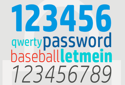 Le 12 password amate dagli hacker (Tiled)