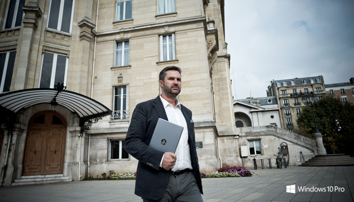 L'agent immobilier et le HP EliteBook Folio (Desktop)