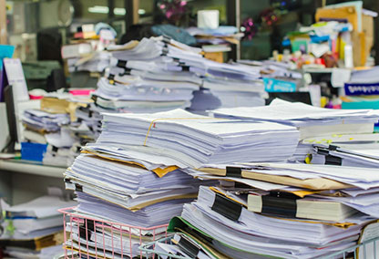 How paperless is your office? (Tiled)